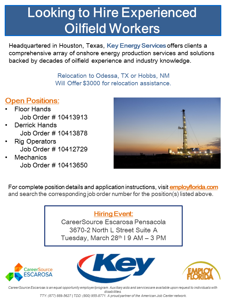 Key Energy Services Event Flyer FINAL
