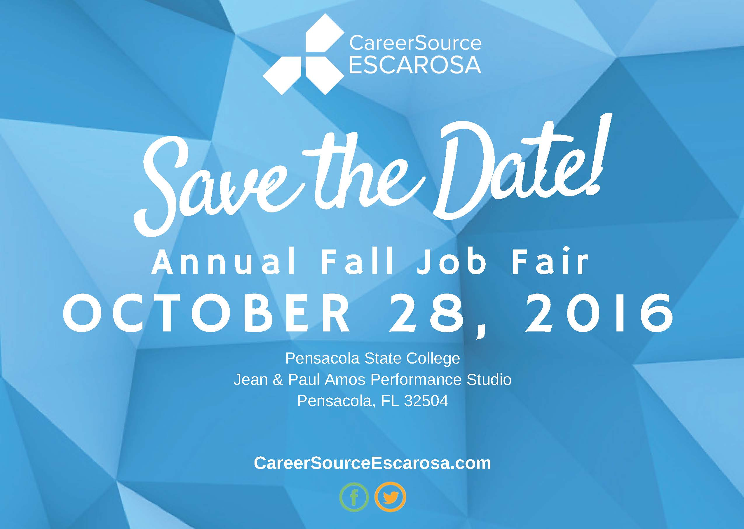 save-the-date_2016 Fall Job Fair