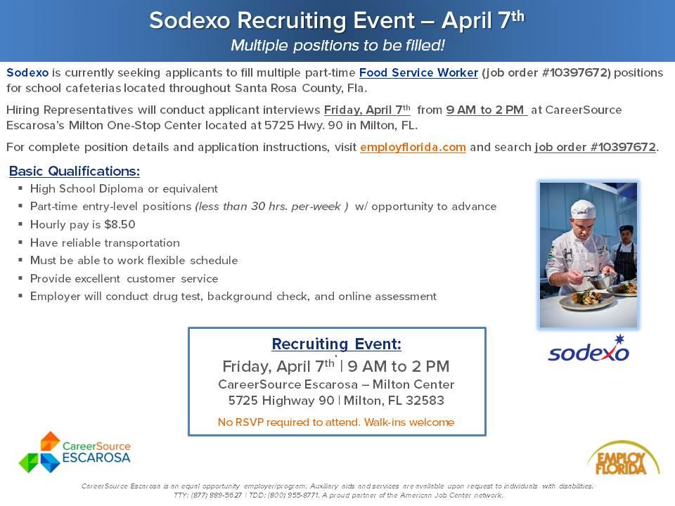 Sodexo Hiring Event_FLYER_FINAL