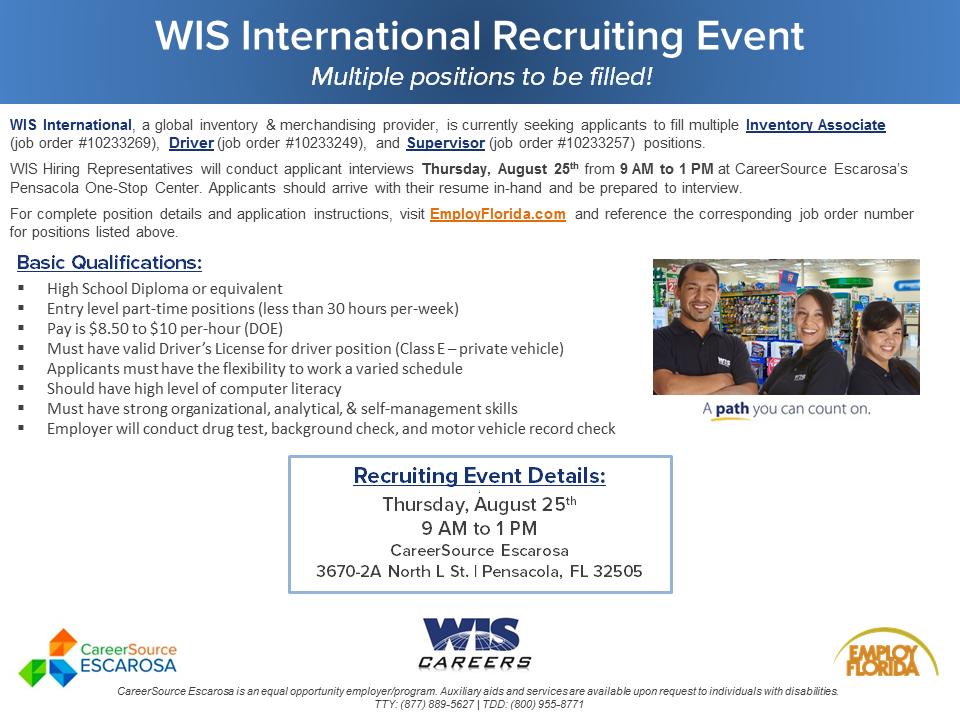 WIS Hiring Event Flyer_ROUND 5_AUGUST 15.2016