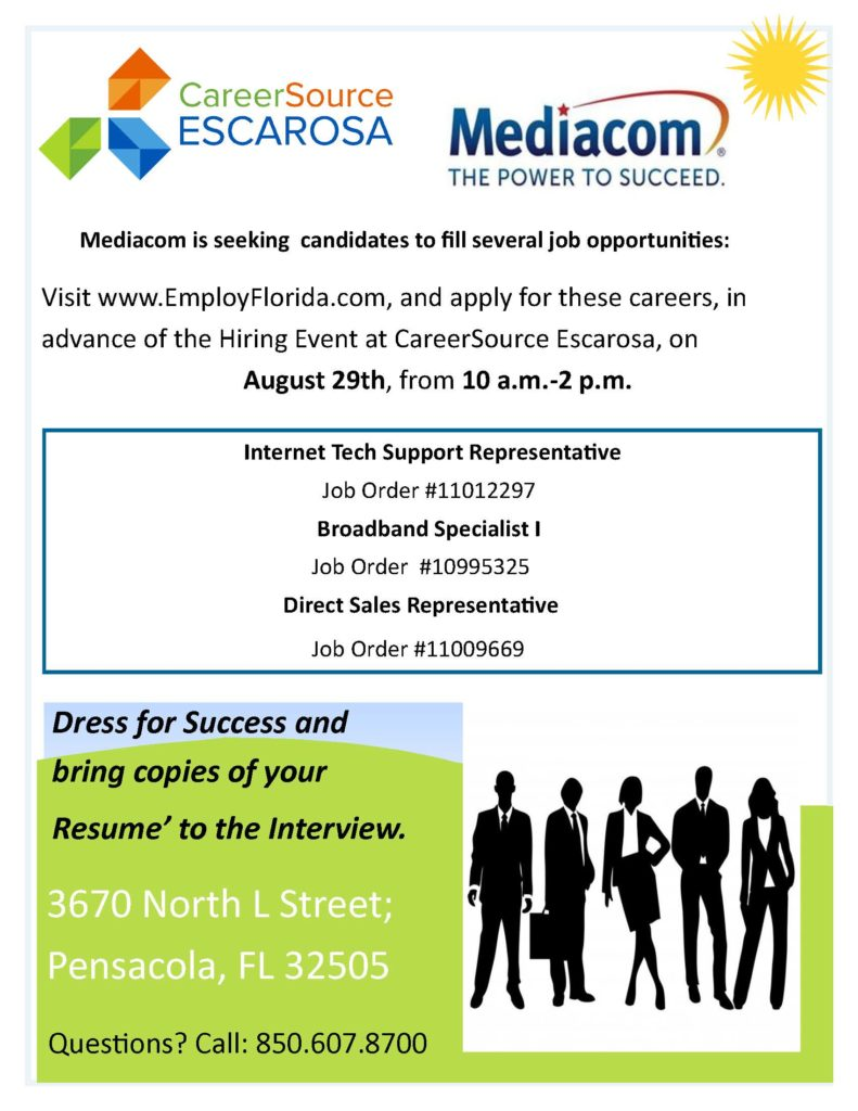 Upcoming Events - Job Fair | CareerSource Escarosa | FL